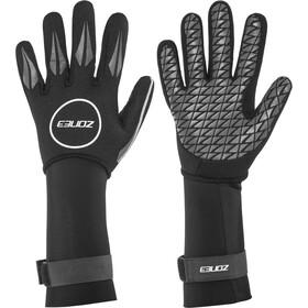 Zone3 Neoprene Swim Gloves, black/reflective silver